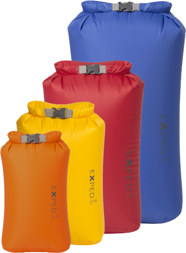 Exped Fold-Drybags BS 4 pack | Travel bags