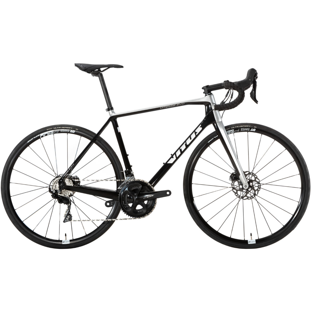 Vitus Vitesse Evo CR Disc Road Bike (105 - 2019)   Road Bikes