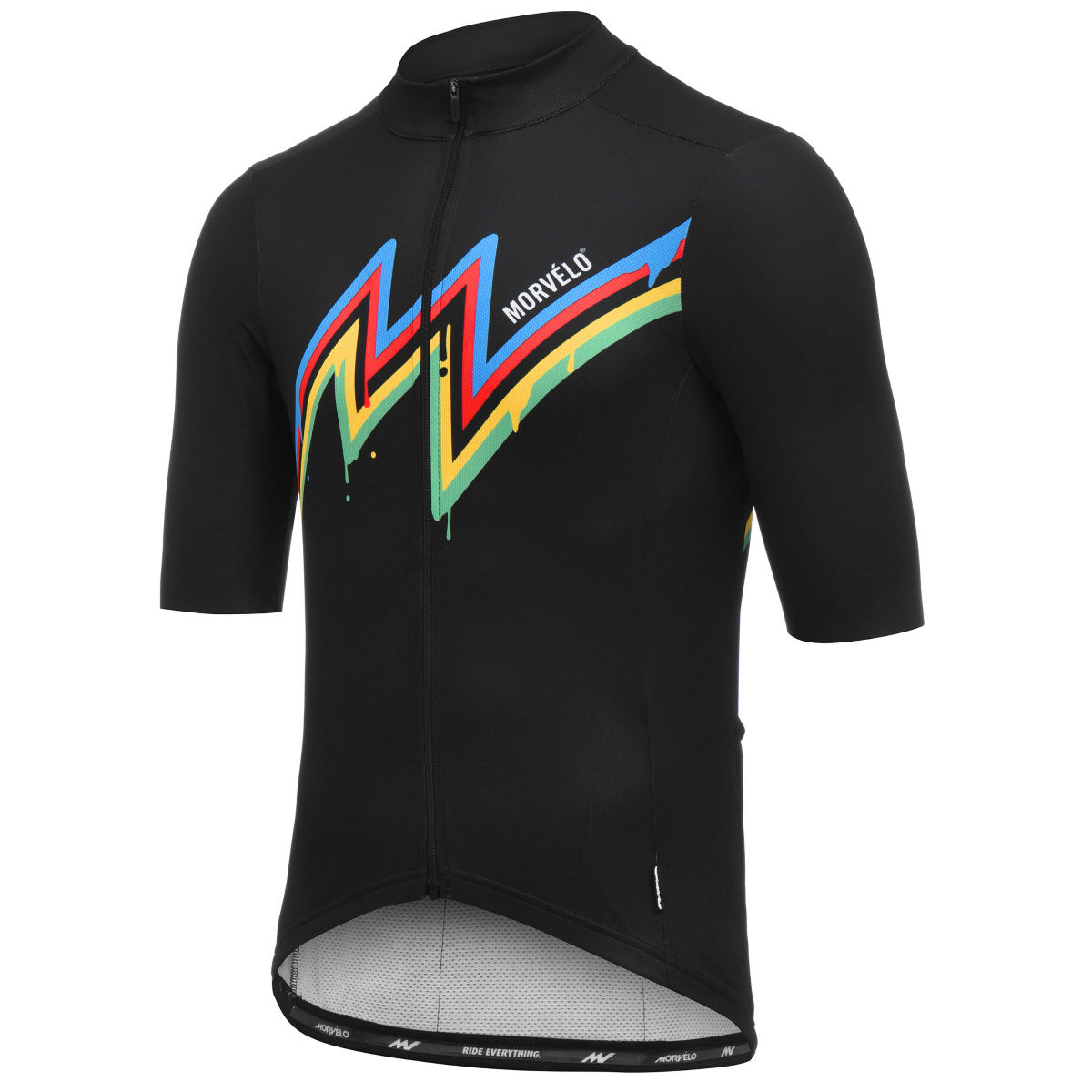 Maillot Morvélo 10 Year Celebration Stripes - Maillots