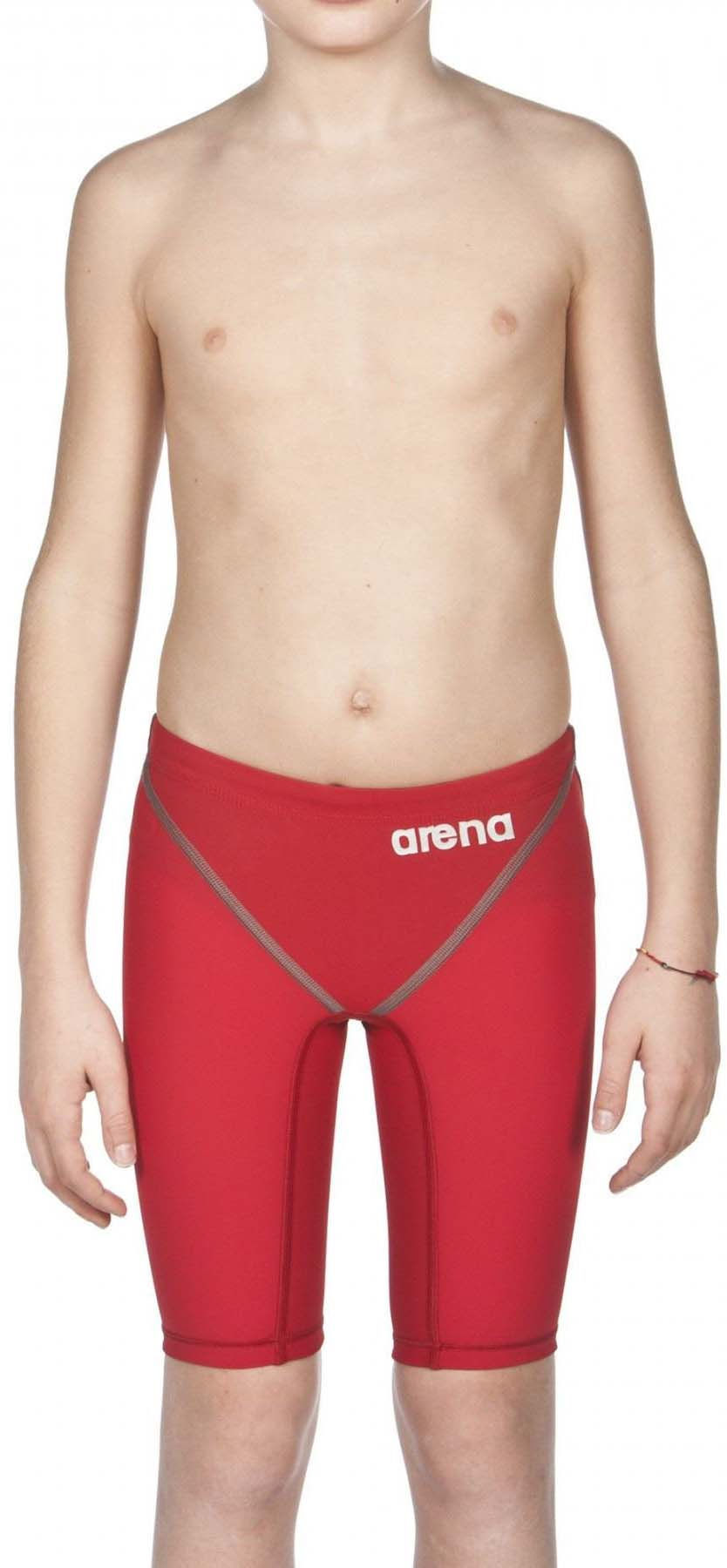 Deep Red 24 Arena Powerskin ST 2.0 Boys Jammers Youth Racing Swimsuit