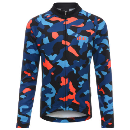 dhb Kids Long Sleeve Jersey - Camo