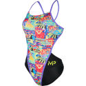 MP Women's Riviera Open Back Swimsuit
