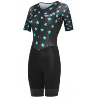 Stolen Goat Womens Evol Blue Tri-Suit Sleeves