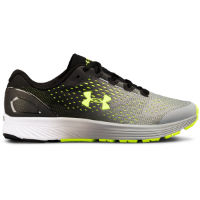 Under Armour Boys Charged Bandi 4 Run Shoe (Black)