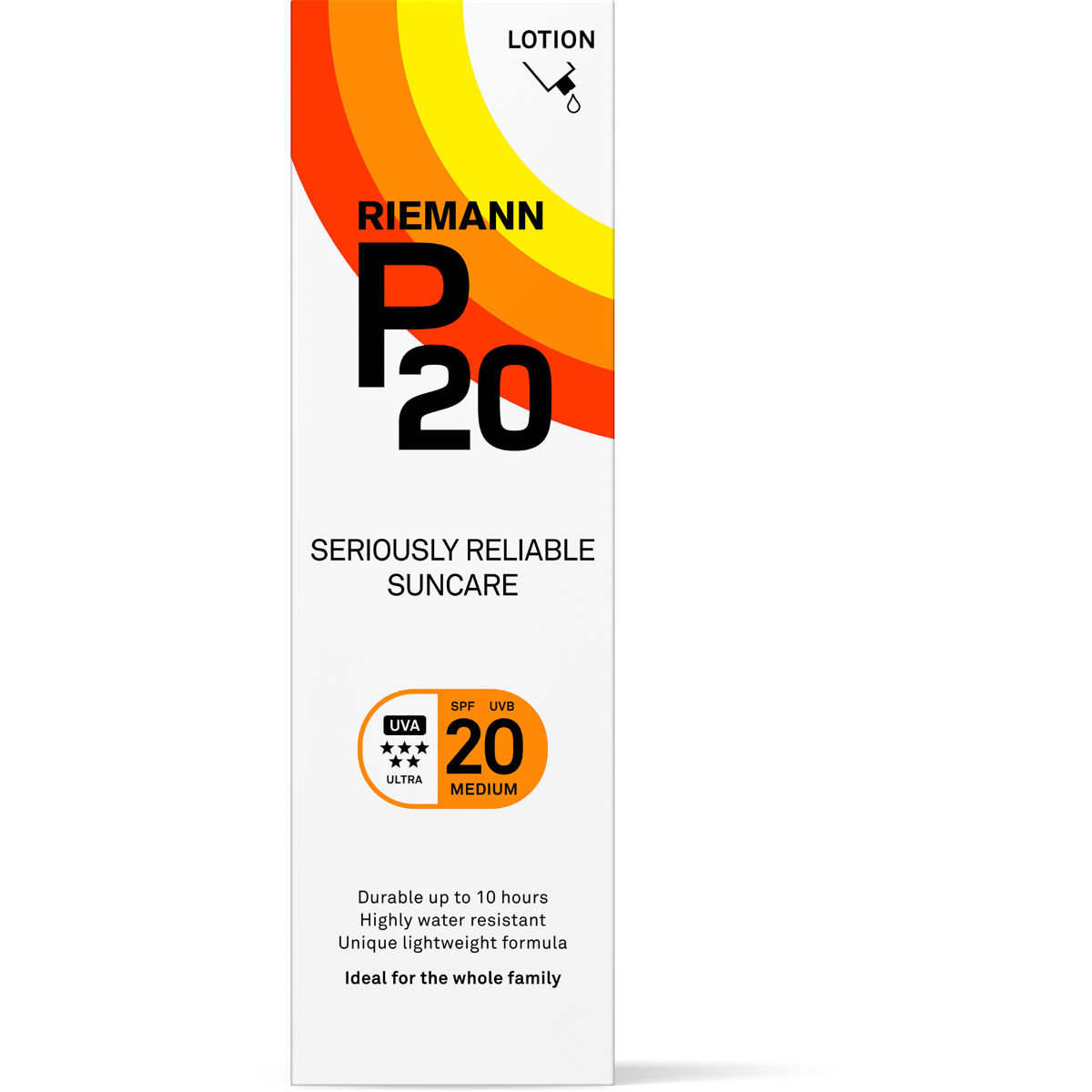 Image of Lotion solaire P20 SPF 20 (100 ml) - 100ml Blanc | Crèmes solaires