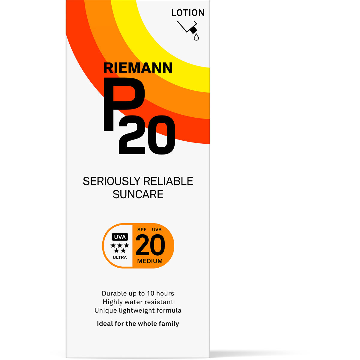 P20 Sun Lotion SPF20 (200ml)   Sun Cream