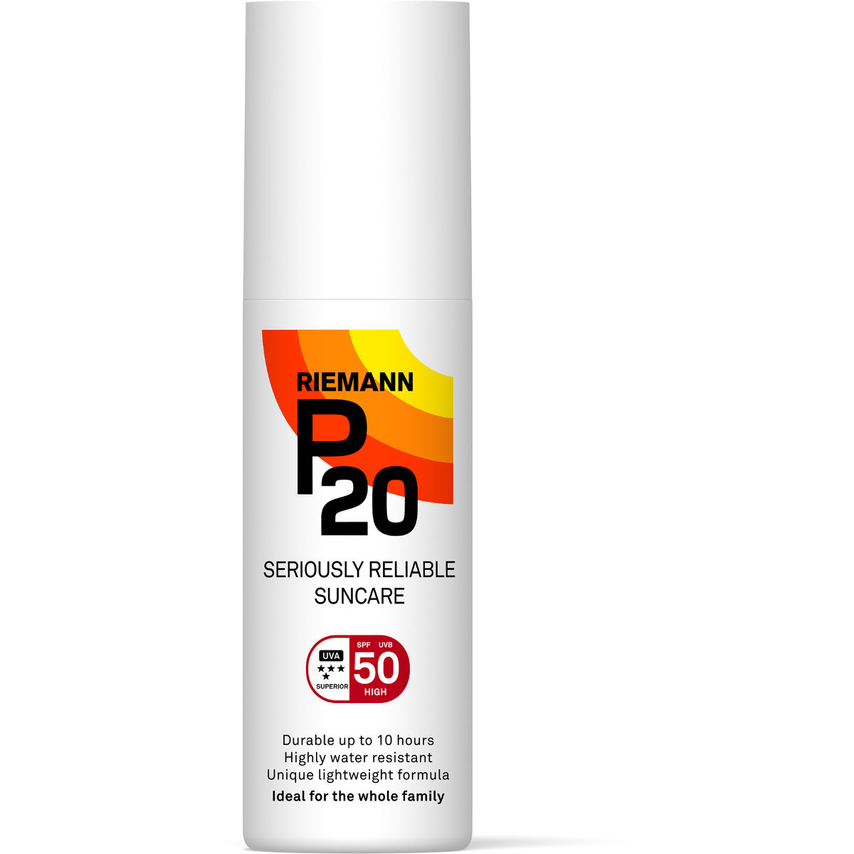 Image of Spray solaire P20 SPF 50 (100 ml) - 100ml Blanc | Crèmes solaires