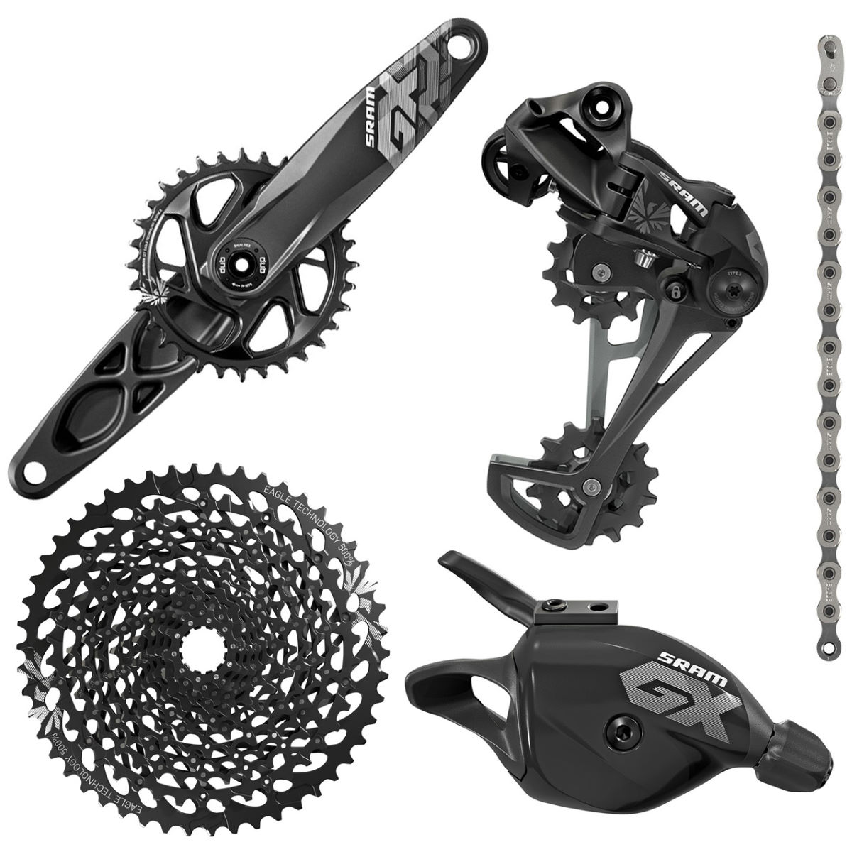 SRAM SRAM GX Eagle 12sp DUB Groupset   Groupsets
