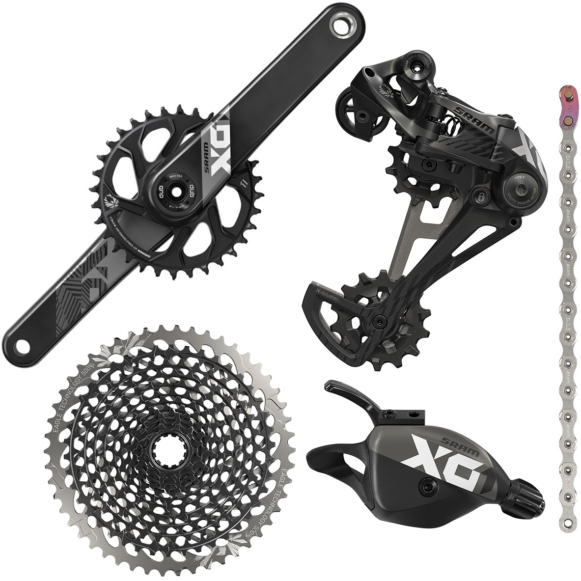 SRAM X01 12sp Eagle DUB Groupset | Groupsets
