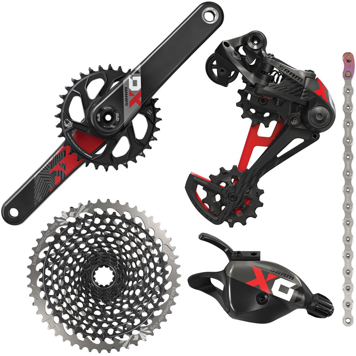 SRAM X01 12sp Eagle DUB BOOST Groupset   Groupsets