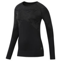 Reebok Womens Thermowarm Seamless Long Sleeve Top