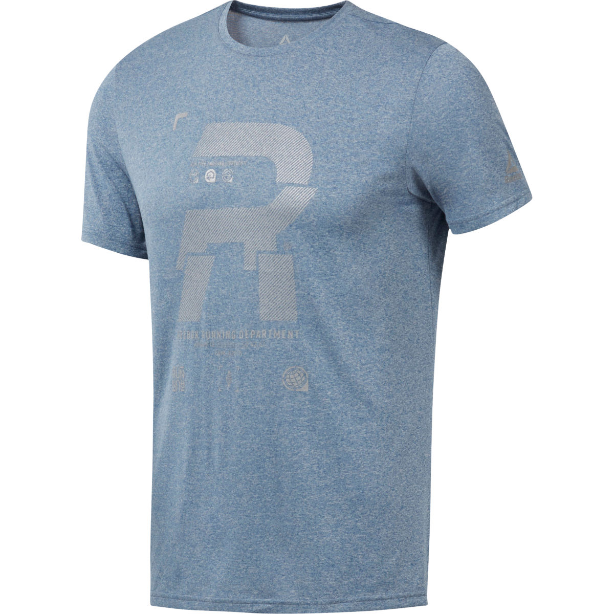 Reebok Reebok Reflective Run Tee   Short Sleeve Running Tops