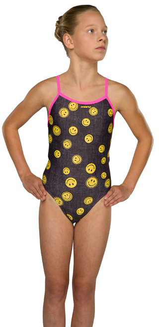 Maru Girl's Jeanius Pacer Fly Back | swim_clothes