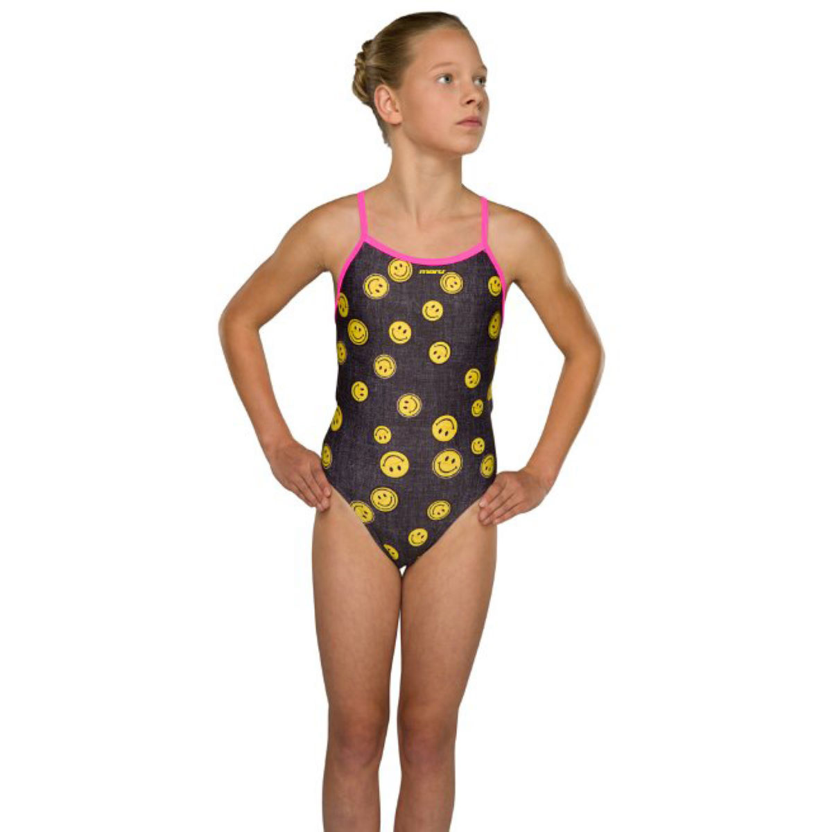 13ff34c5cf Maru Girl's Jeanius Pacer Fly Back One Piece Swimsuits. 79%