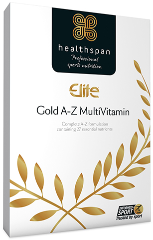 Healthspan Elite MultiVitamin Gold A-Z (120 Tabs) | Misc. Nutrition