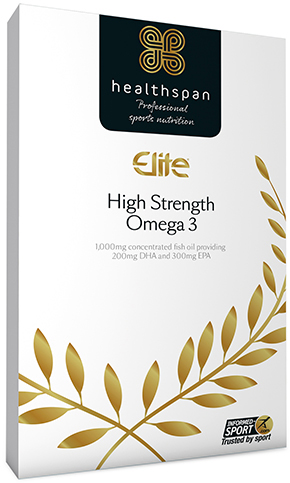 Healthspan Elite High Strength Omega 3 (120 Capsules) | Misc. Nutrition