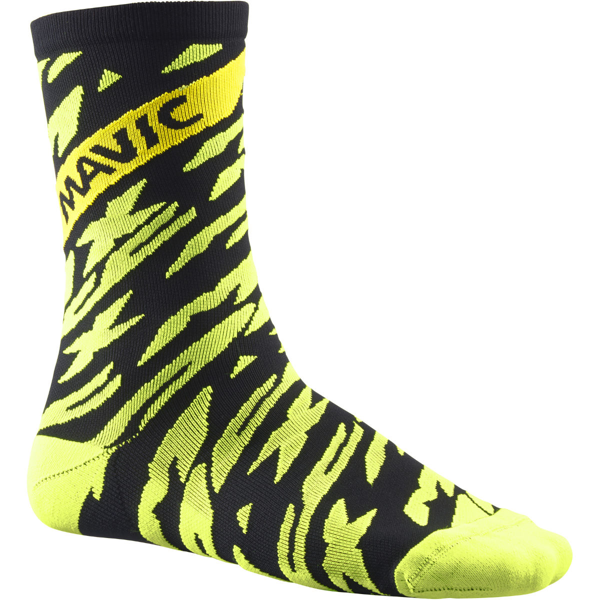 Chaussettes Mavic Deemax Pro (hautes) - 43 - 46 Safety Yellow/Black