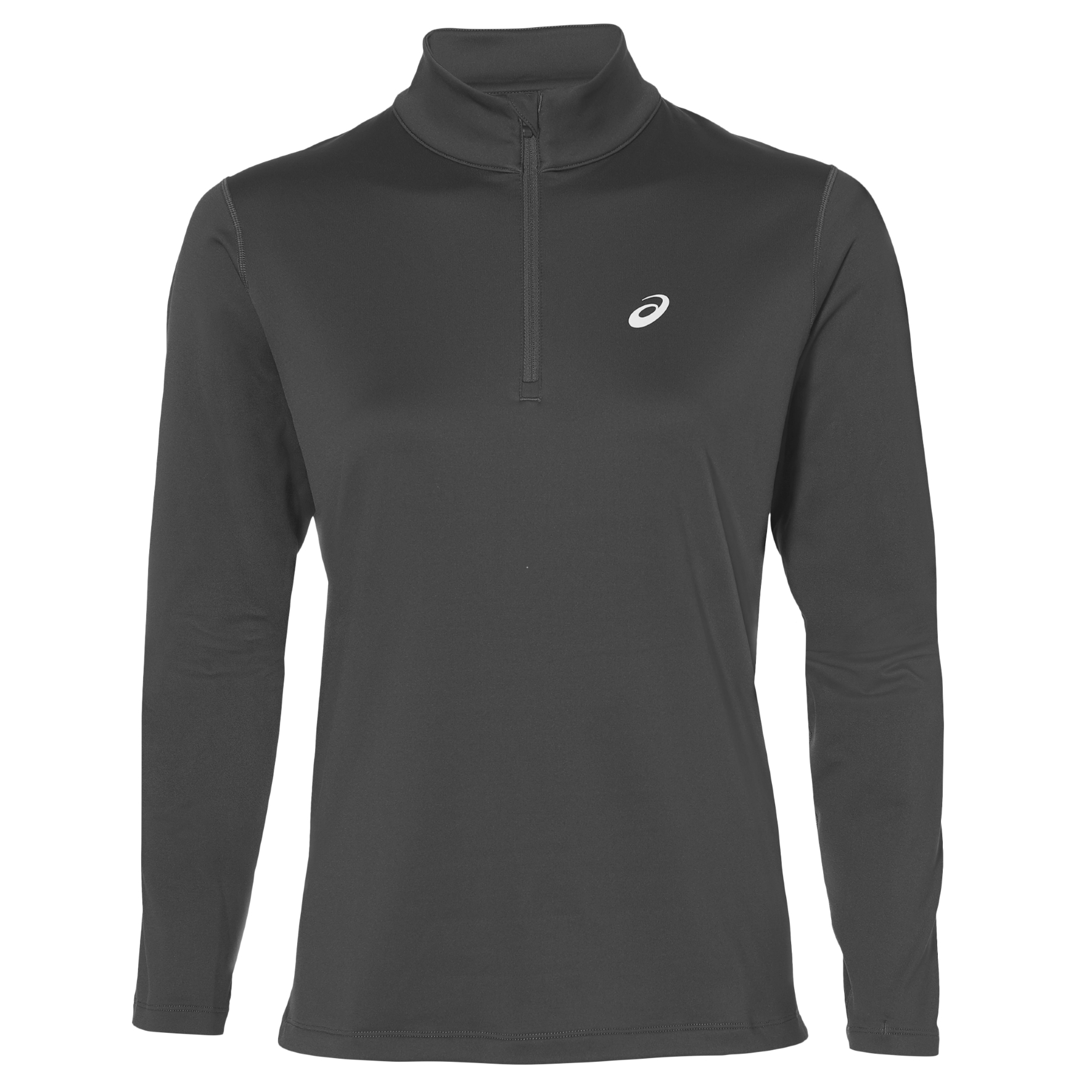 e3a663d2789 Wiggle | Asics Women's Silver LS Winter 1/2 Zip Top | Long Sleeve Running  Tops