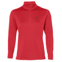 e011111b0 Asics Women s Silver LS Winter 1 2 Zip Top