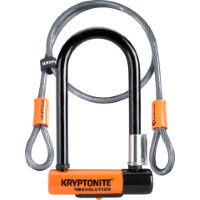 Kryptonite Evolution Mini 7 Lock & 4 Foot Kryptoflex Cable