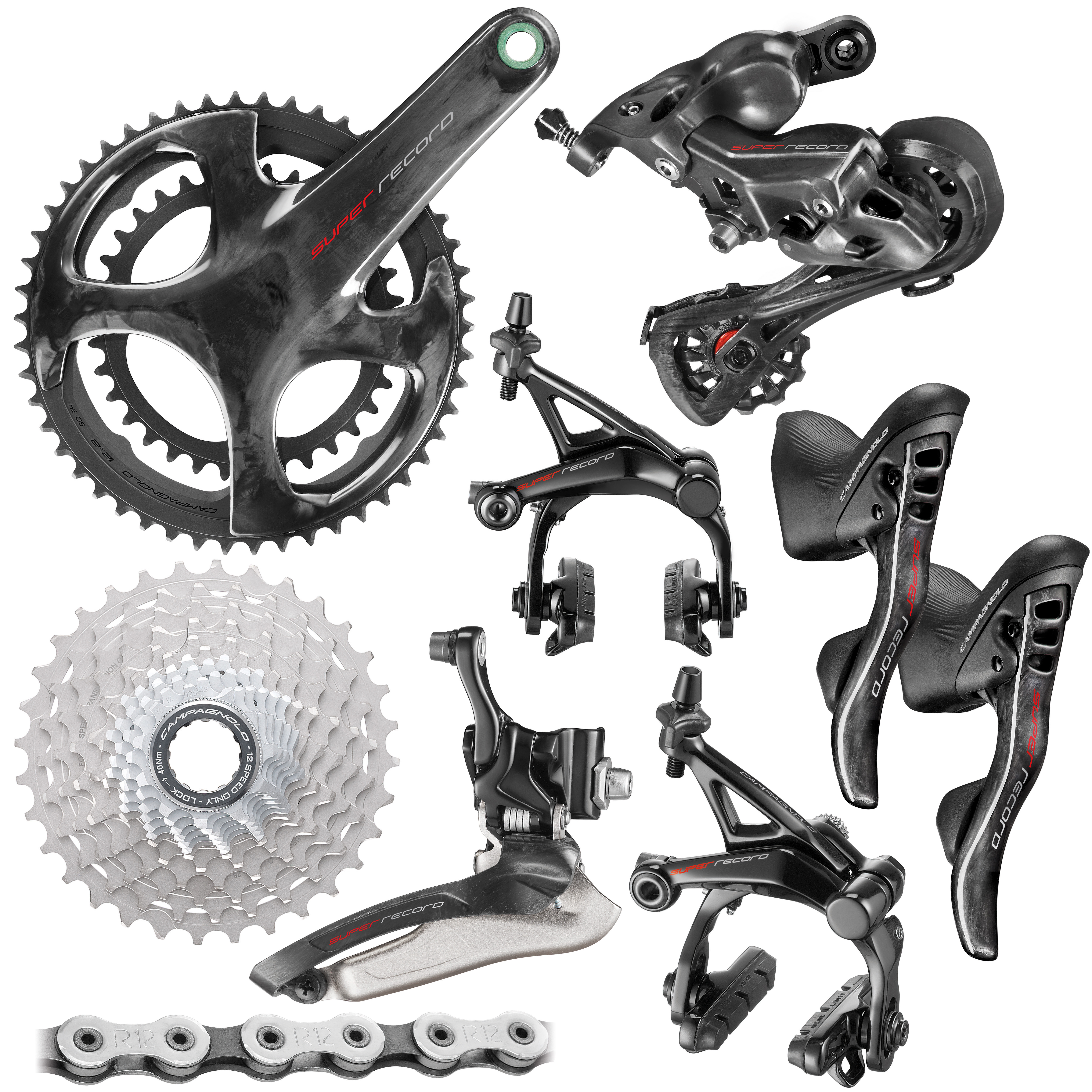 Campagnolo Super Record Geargruppe (12 Speed) | Groupsets