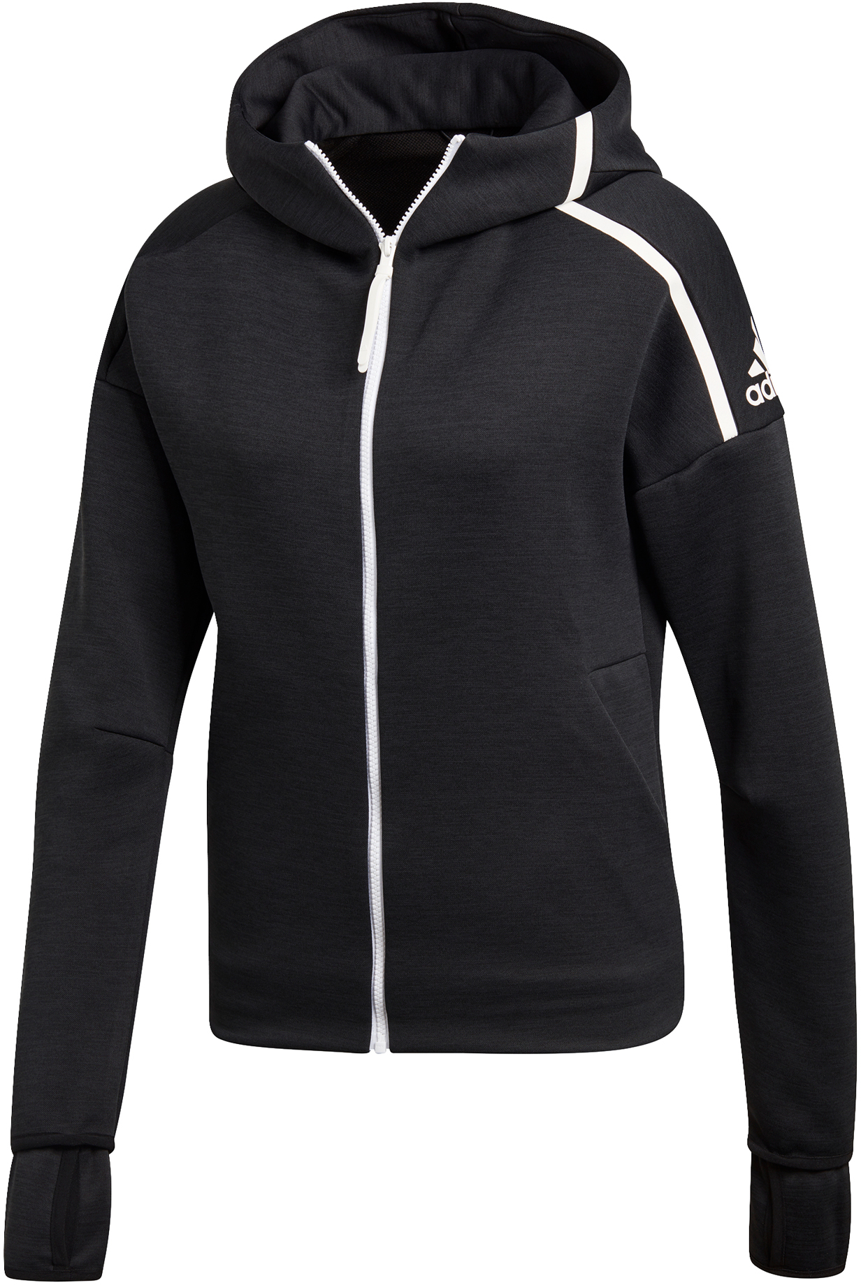 adidas hoodie with zipper