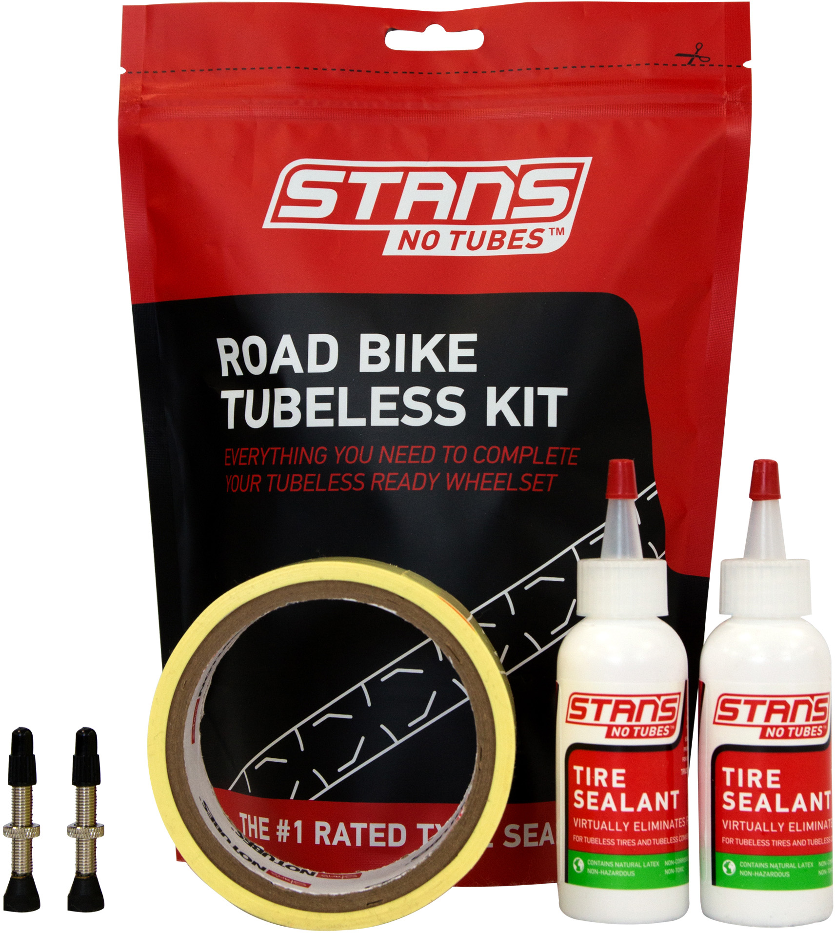 Stans No Tubes Road Tubeless Tyre Kit | Misc. Tyres and Tubes