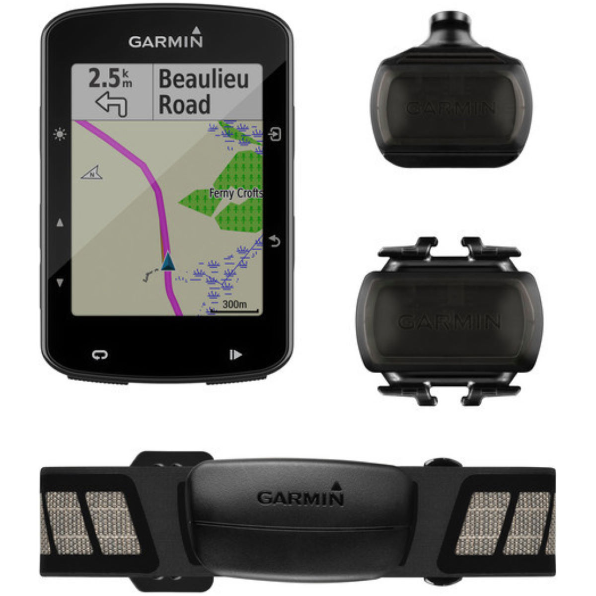 Garmin Garmin Edge 520 Plus GPS Cycle Computer Bundle   Computers
