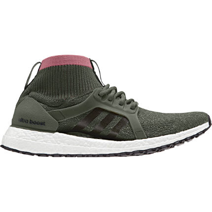e54399ec5f3b3 View in 360° 360° Play video. 1.  . 2. Base Green S15  Women s UltraBoost X  All Terrain Shoes
