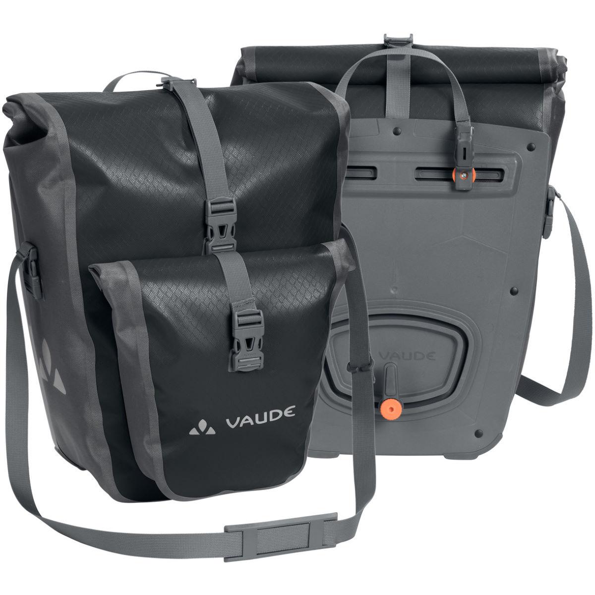 Vaude Aqua Back Plus Waterproof Rear Pannier Bags Pair - Alforjas