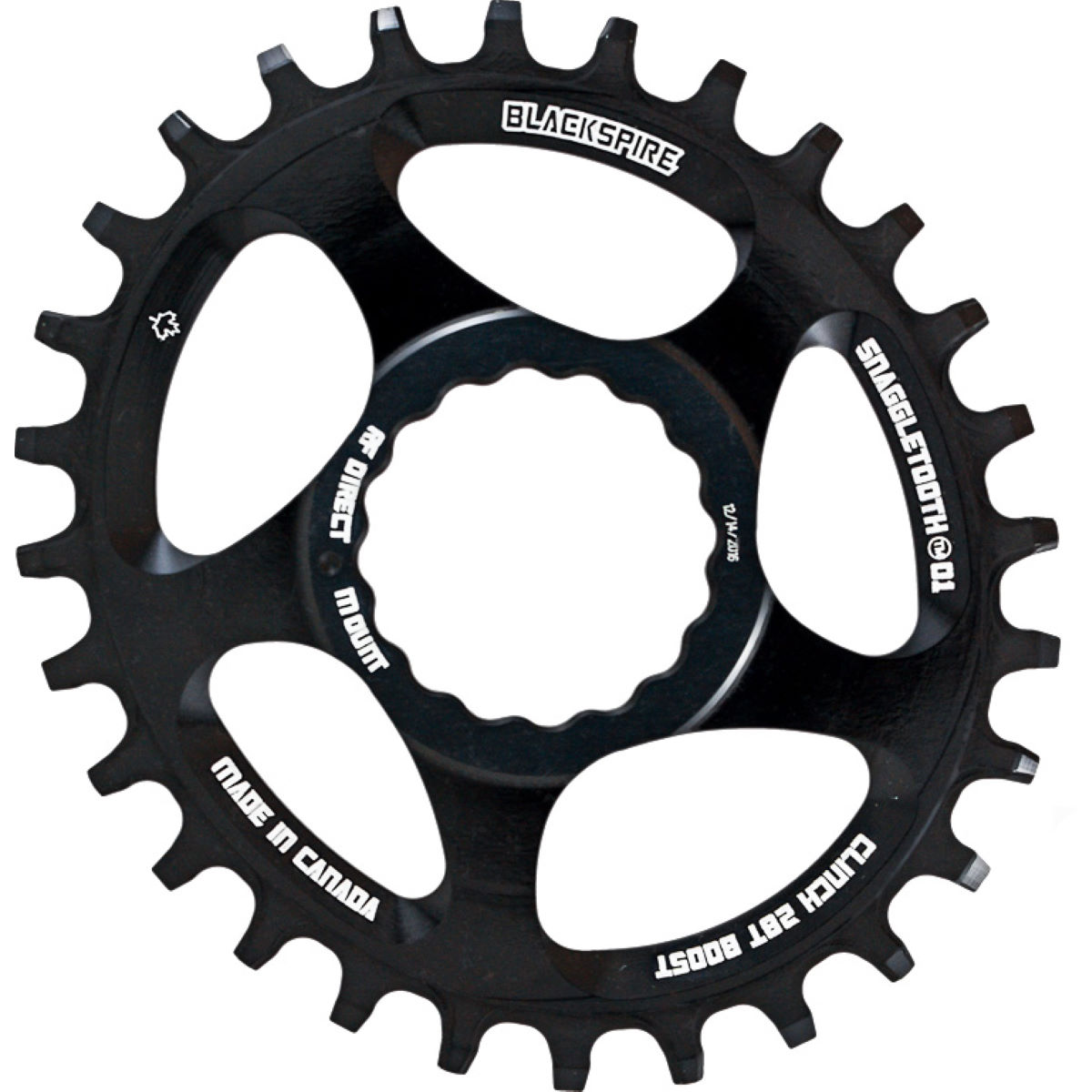 Blackspire Snaggletooth Oval Cinch Chainring Boost   Chain Rings