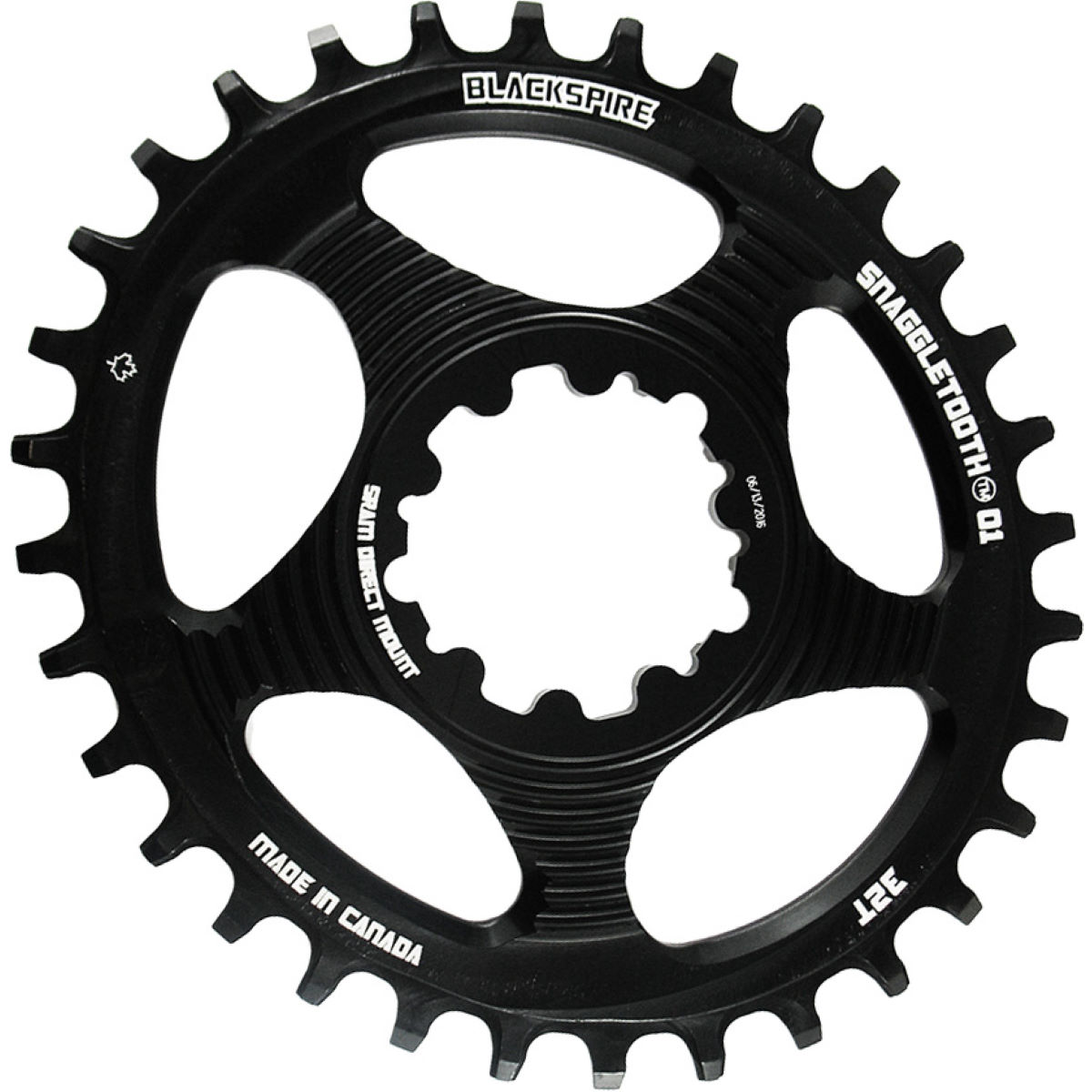 Blackspire Blackspire Snaggletooth Narrow Wide Oval Chainring SRAM   Chain Rings