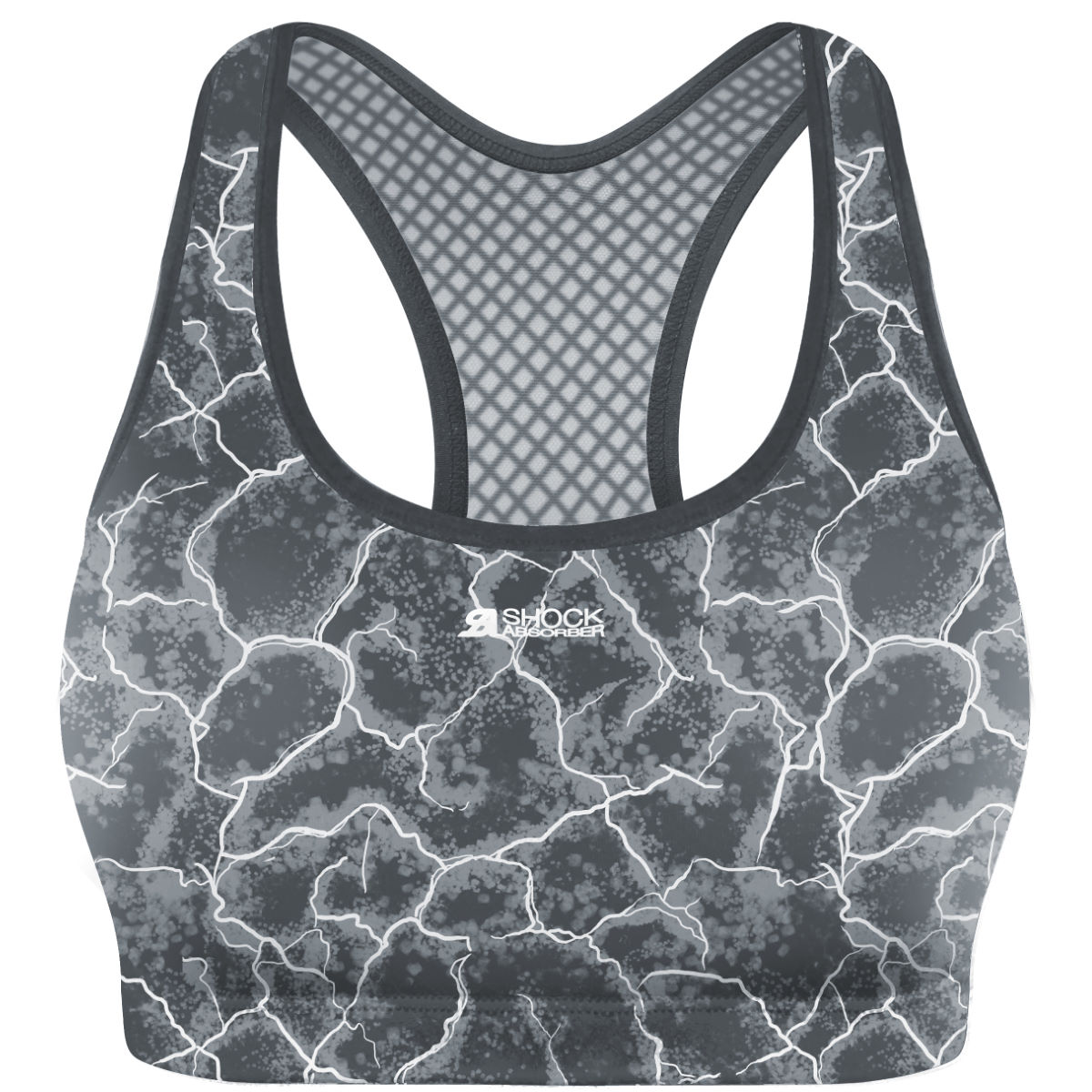 Shock Absorber Active Crop Top (Print)   Sports Bras