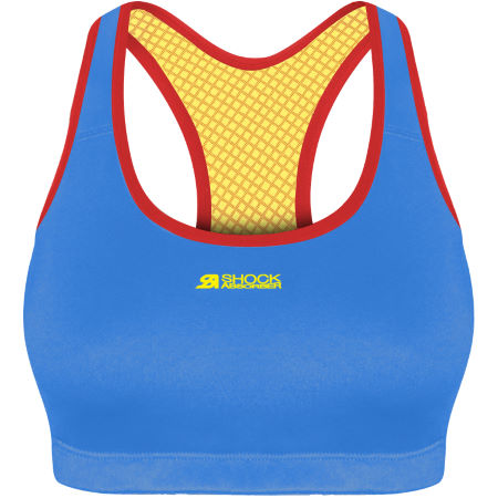 Shock Absorber Active Crop Top (Blue)