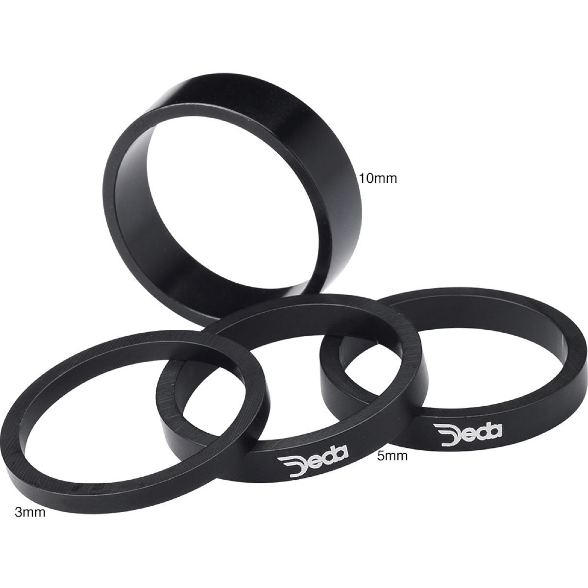 Deda Deda Alloy Spacer 10 pack   Headsets