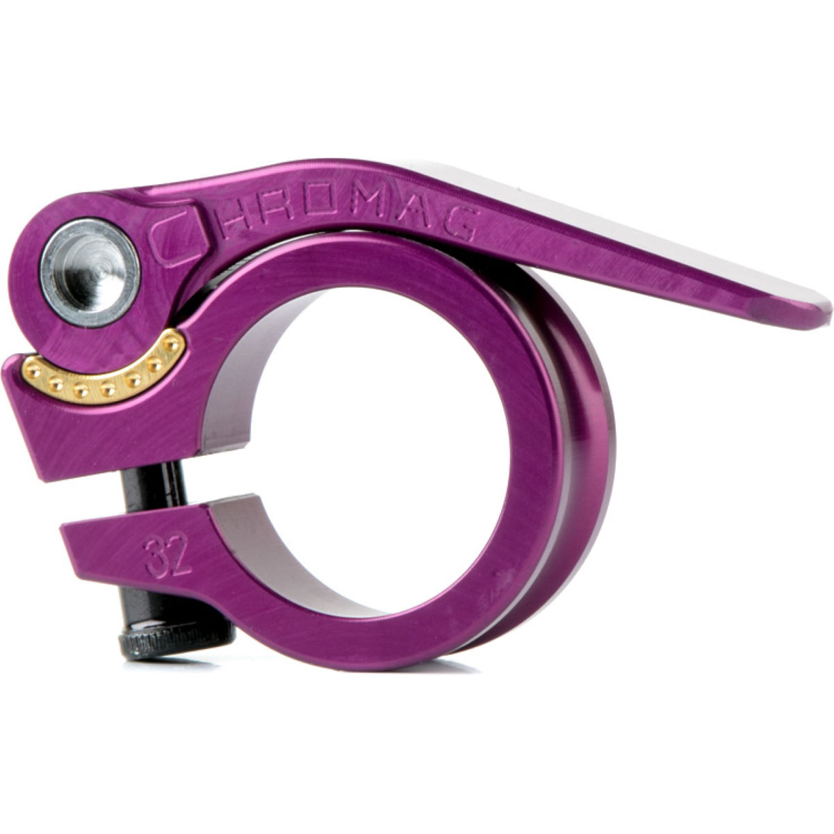 Chromag Qr Seat Post Clamp - 35mm Purple  Seat Post Clamps