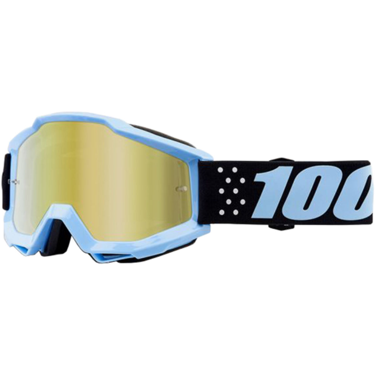 100% Accuri Youth Goggles Mirror Lens   Cycling Goggles