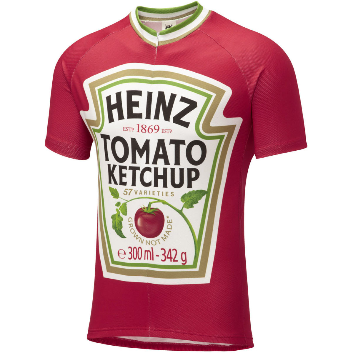 Image of Maillot Enfant Foska Ketchup - 6-8 Years Rouge | Maillots