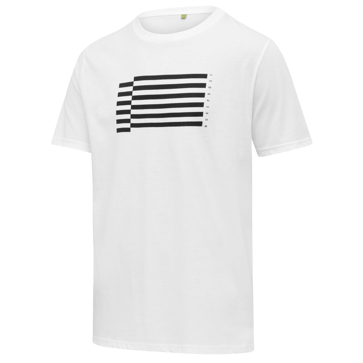 T-shirt Nukeproof Flag - Medium Blanc  T-shirts