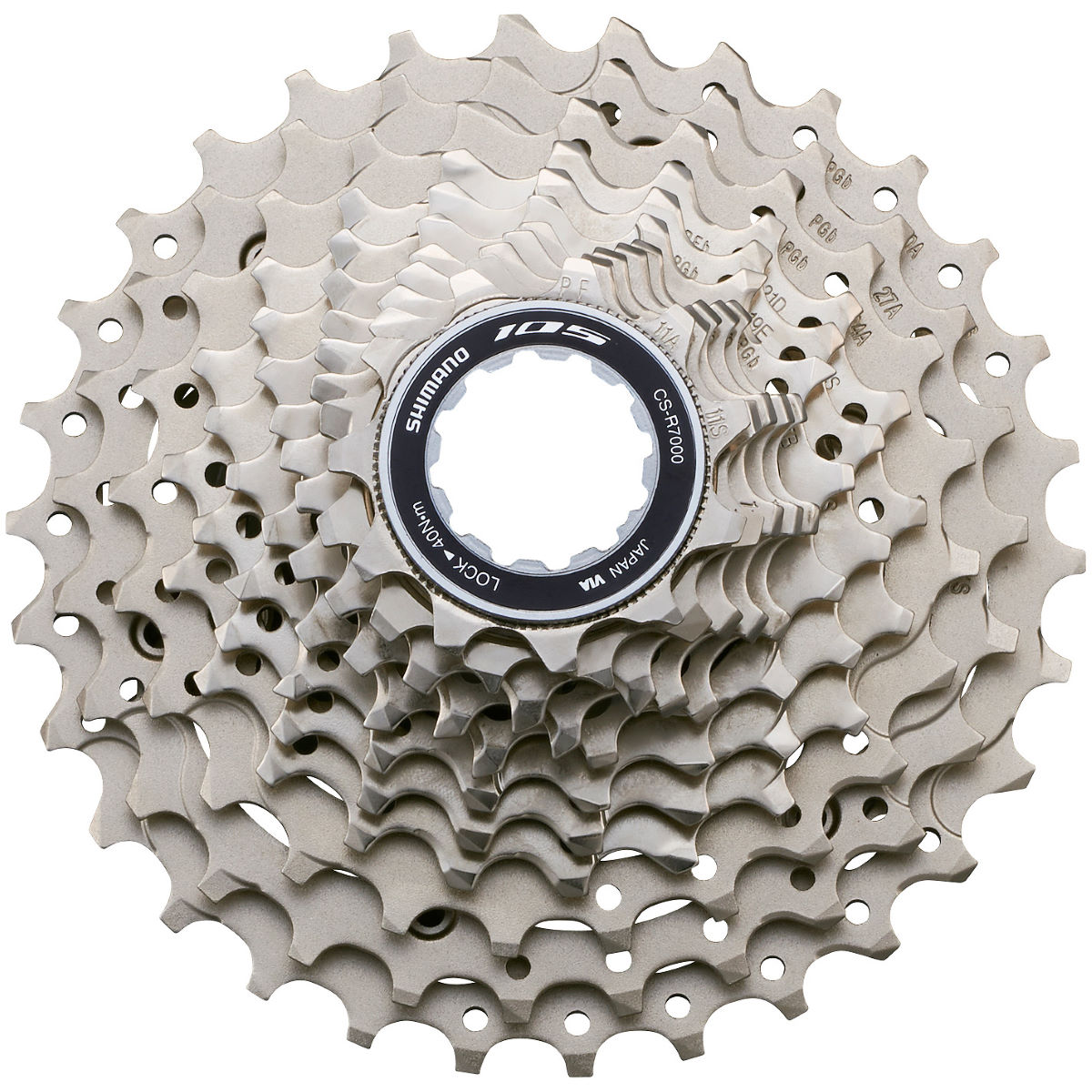 Shimano 105 R7000 11 Speed Cassette - 11-32t Silver  Cassettes