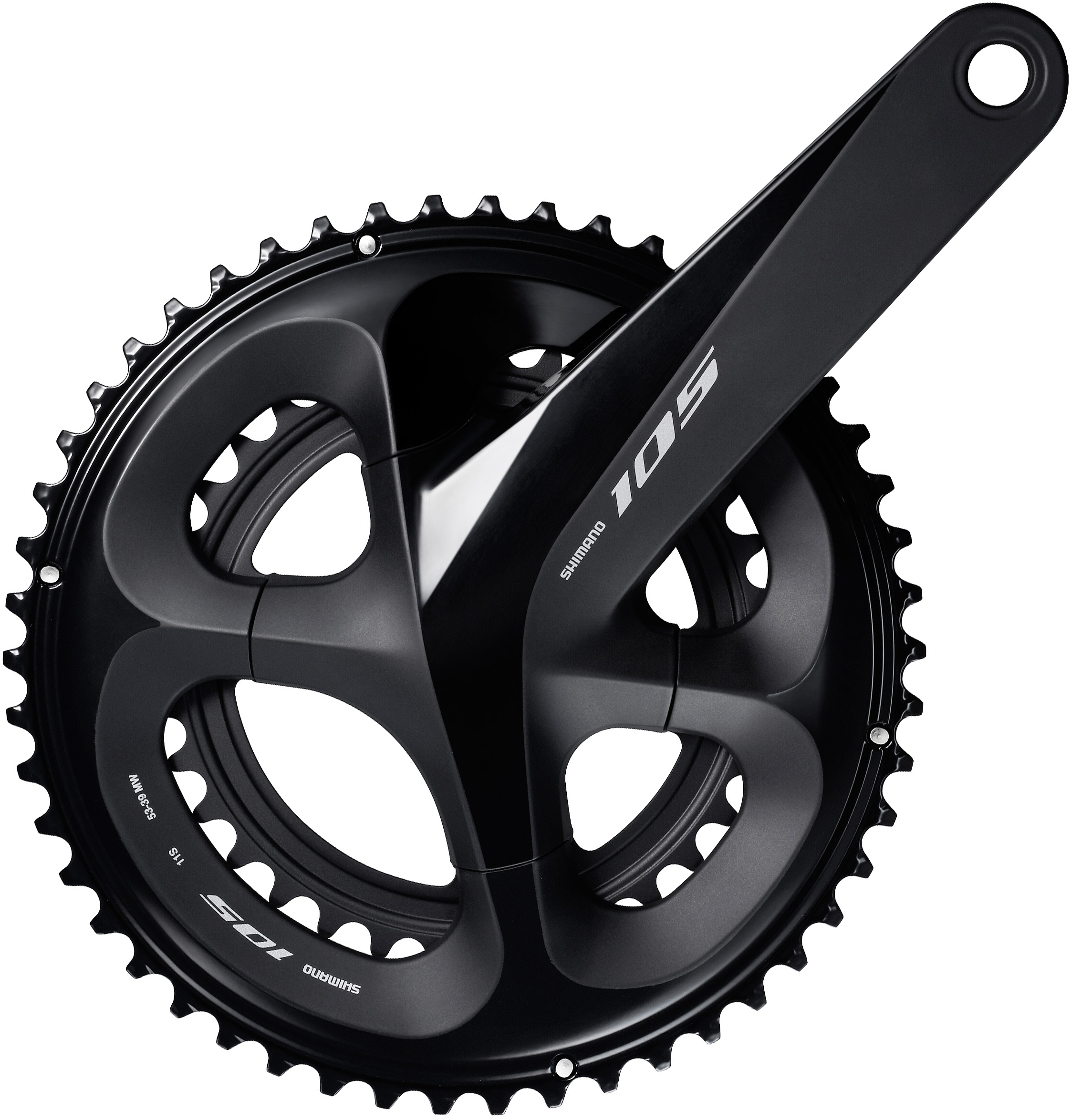 827863ca066 Wiggle | Shimano 105 R7000 Compact Chainset (11 Speed) | Chainsets