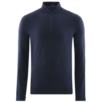 Fohn Merino Long Sleeve Zip Baselayer (250)