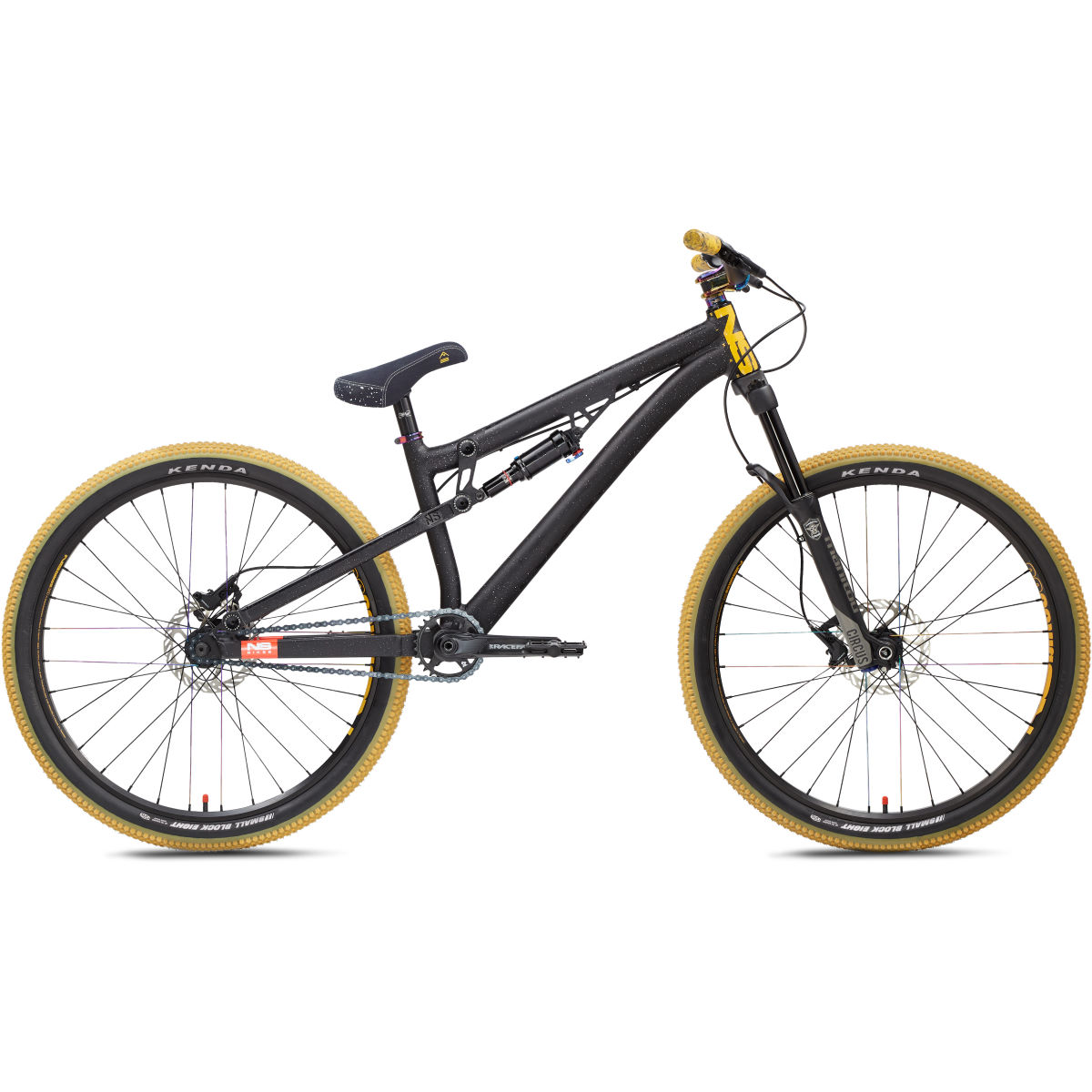 NS Bikes Soda Slope Dirt Jump Bike   Full Suspension Mountain Bikes
