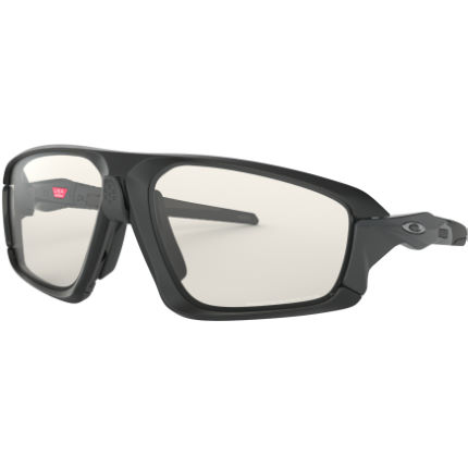 Oakley Field Jacket Clear Black Sunglasses