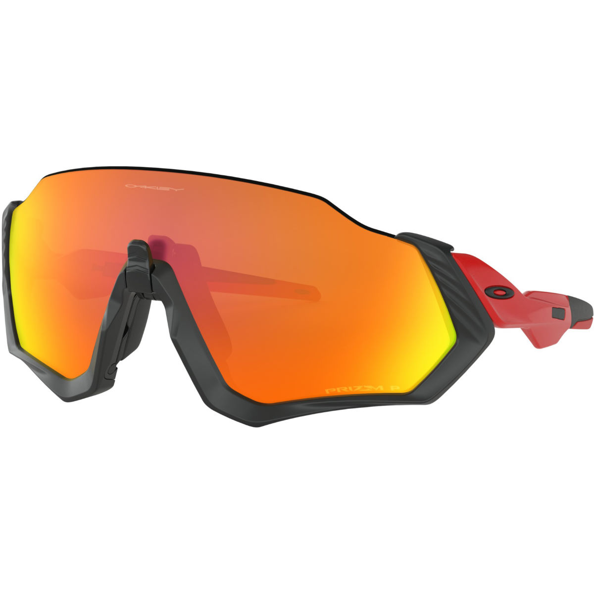 Oakley Flight Jacket Prizm Ruby Polarized - Gafas de sol