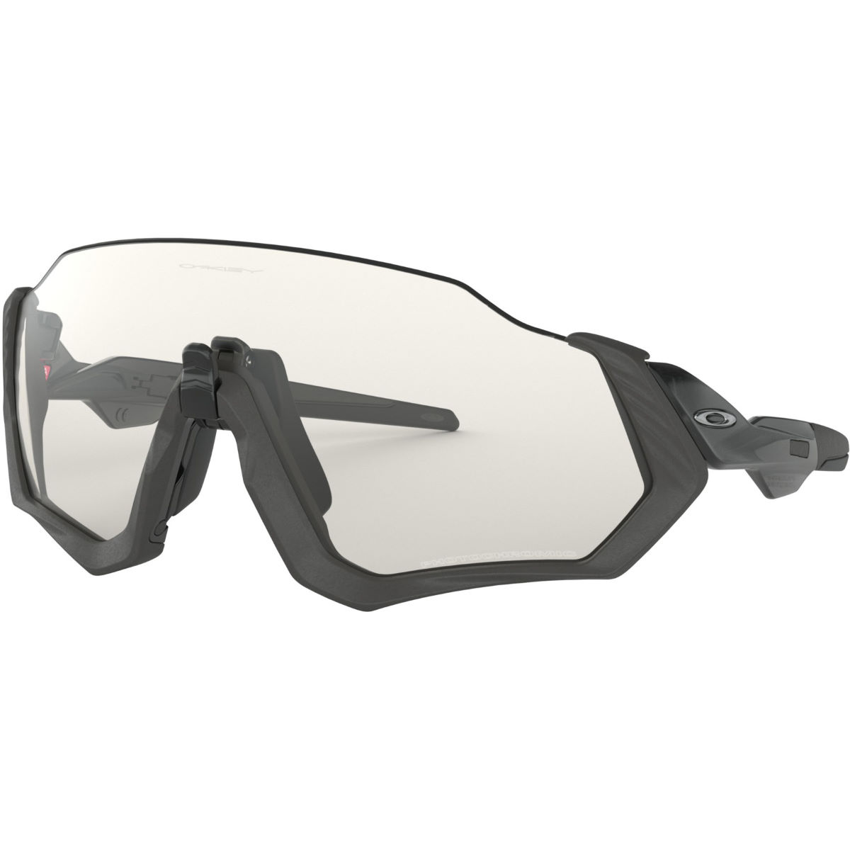 Gafas de sol Oakley Flight Jacket Clear Black - Gafas de sol
