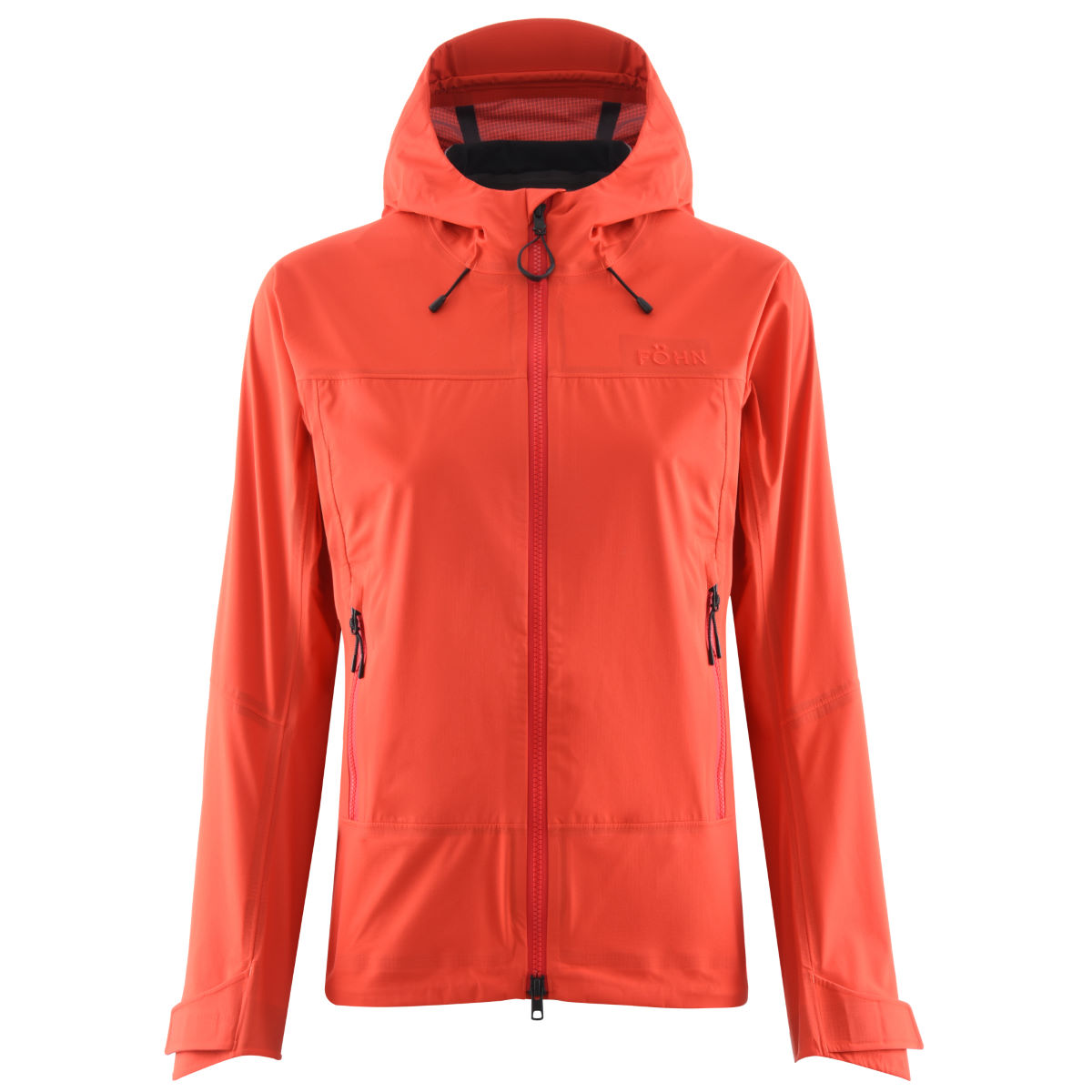 Veste Femme Föhn  Supercell 3L (imperméable) - UK 8 Orange/Red