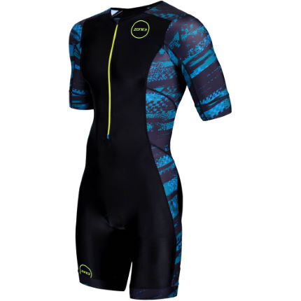 Zone3 Men's Activate Plus Short Sleeve Trisuit