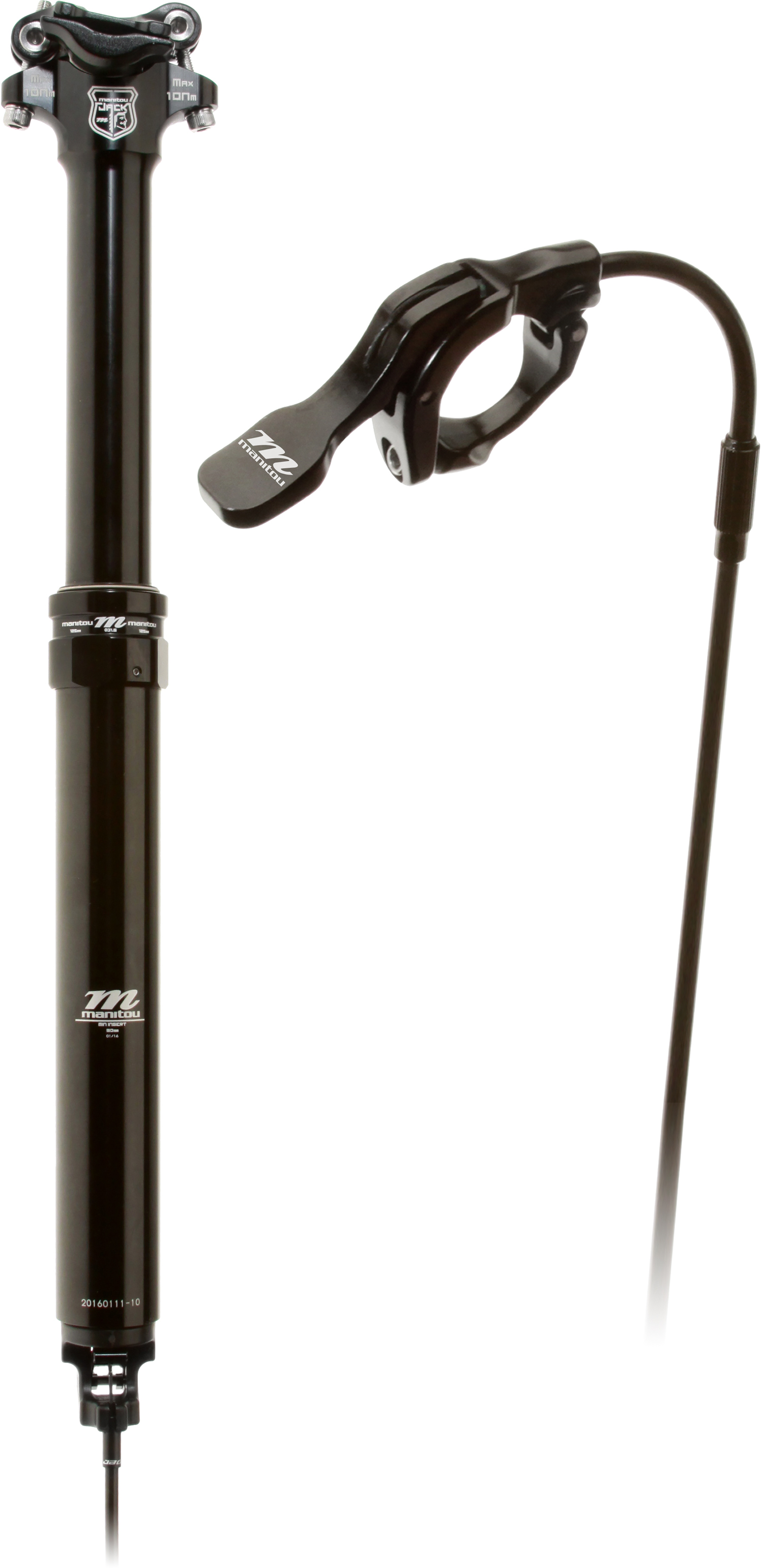 Manitou Jack Dropper sadelpind | Seat posts