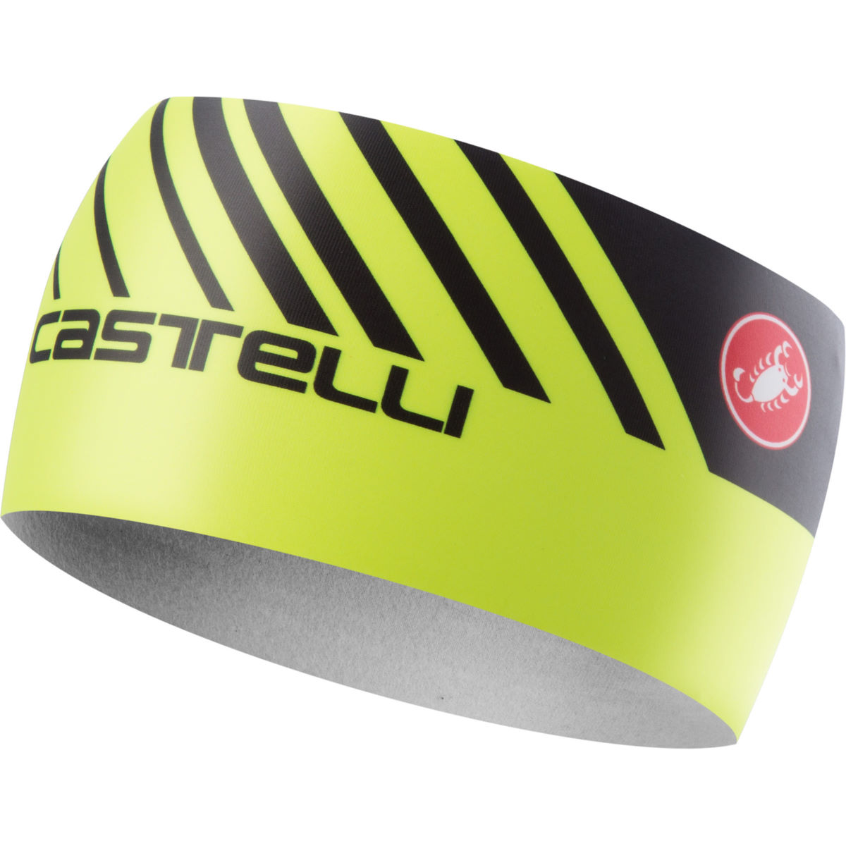 Image of Bandeau Castelli Arrivo 3 (thermique) - One Size Yellow Fluo